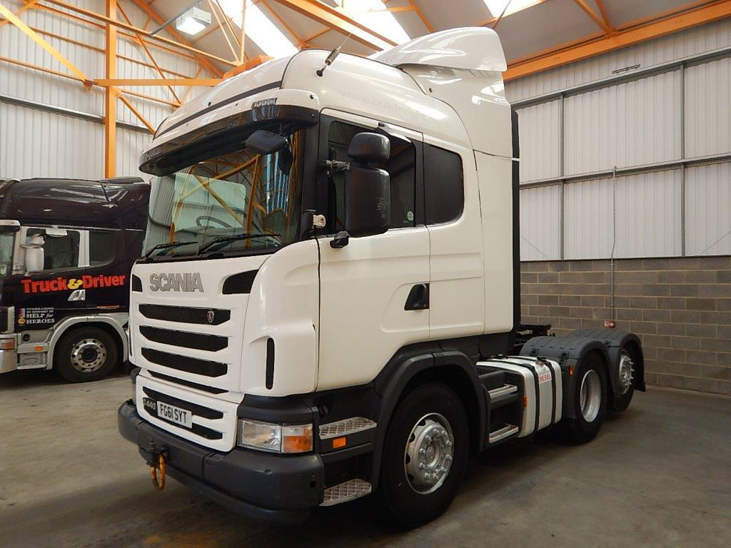 SCANIA G440 EURO 5 HIGHLINE 6 X 2 TAG AXLE TRACTOR UNIT - 2011